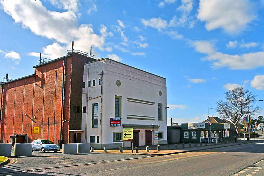 The former Clifton Cinema in Wellington, UK.