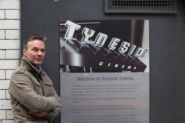 Thomas Putz, new CEO of Tyneside Cinema.