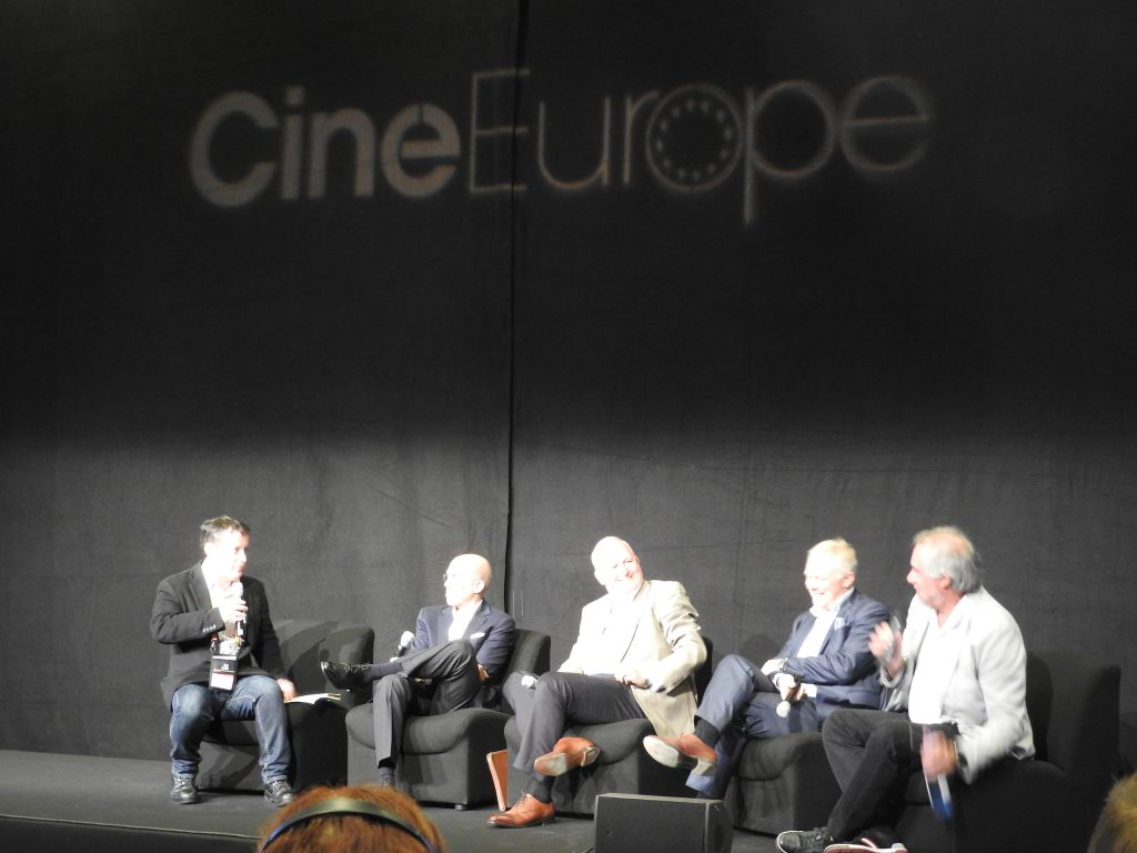 CineEurope 2016 The Future of Cinema - an Executive Round Table.