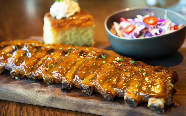 Tuck Room Tavern's Barbecue Ribs
