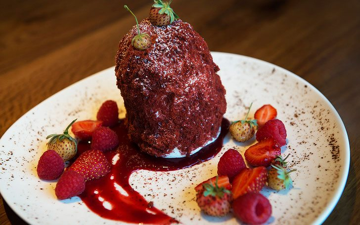 Tuck Room Tavern's Red Velvet Pavlova