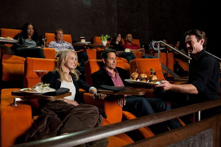 iPic Westwood In-Cinema Dining