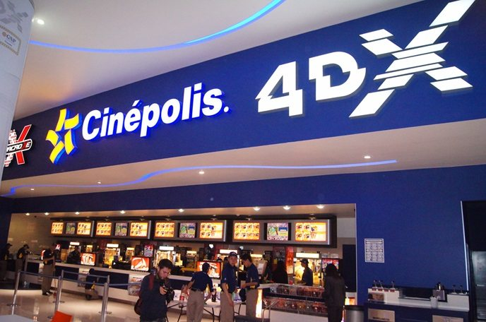 Cinépolis cinema. (photo: Barco press release)