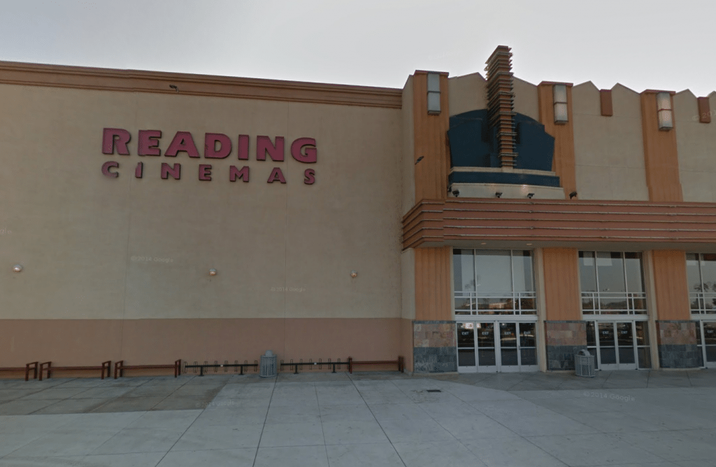 Reading Cinemas, Valley Plaze, Bakersfield.