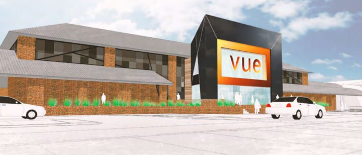 A grand new entrance to Vue in Capitol Centre. (image: artist's impression)