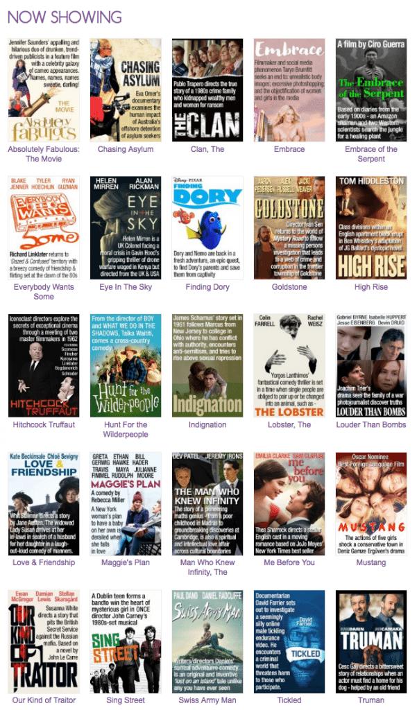 Cinema Nova films