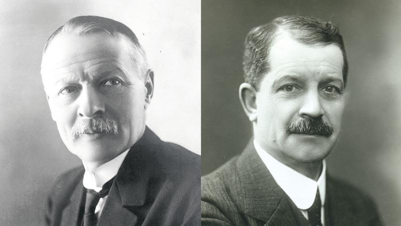Charles Pathé and Leon Gaumont
