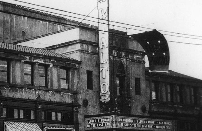 Rialto Theatre in South Pasadena.