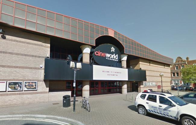 Cineworld in Southampton (pic: Google Street View)