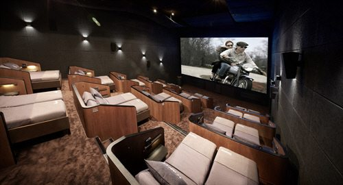 Bed cinema CJ CGV