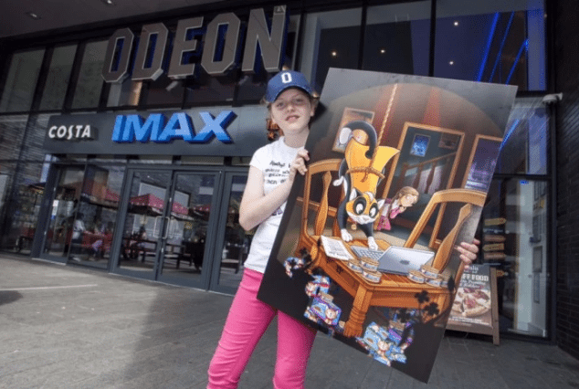 Jaclyn Moorhouse is Odeon's first Imagination Apprentice (photo: Odeon)