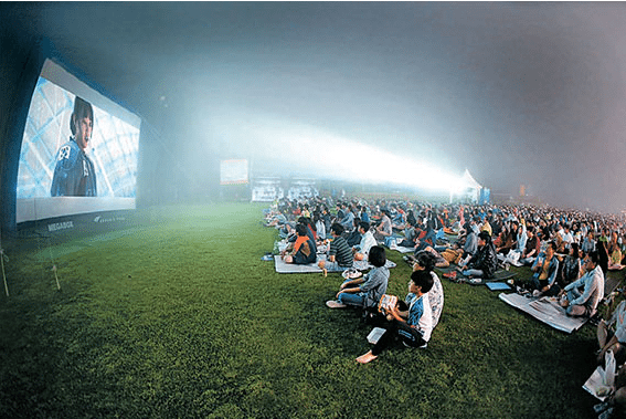 High-altitude cinema courtesy of Megabox. (photo: Megabox)