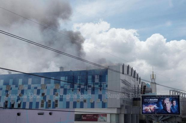 Major Cineplex Pinklao fire. (photo: Kitja Apichonrojarek)
