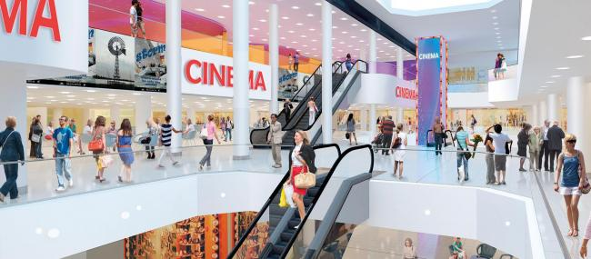 Not to be - Basildon's Eastgate Centre's proposed cinema. (image: artist's impression)