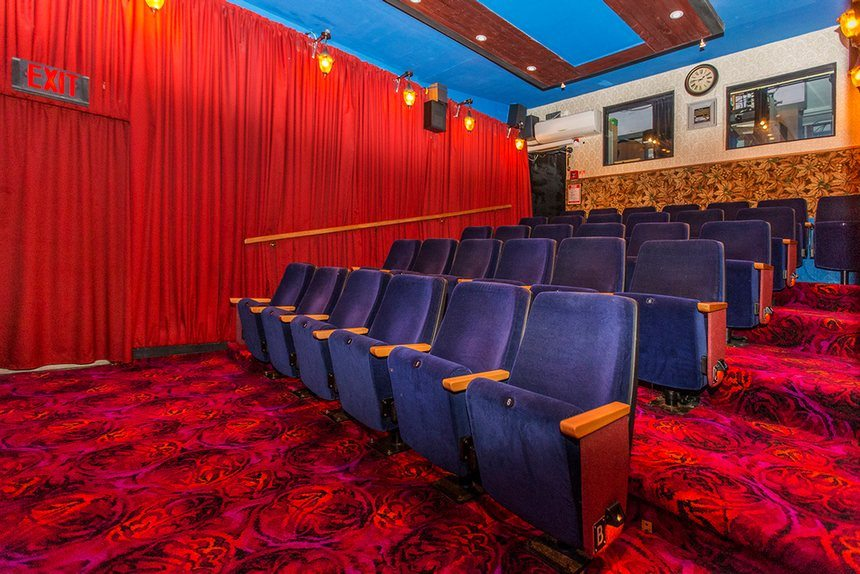 Be a proud New Zealand cinema owner (house included). (image: The Guardian)