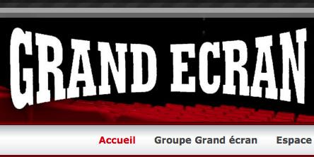 Grand Écran logo