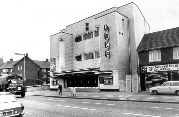 The former Belfast Majestic cinema in Lisburn Road. (photo: Belfast Telegraph)