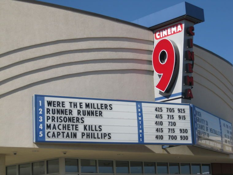 Midway Mall Cinema 9 set for upgrade. (photo: KXRA)