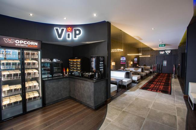 Cineworld VIP cinema in Glasgow. (photo: Evening Times)