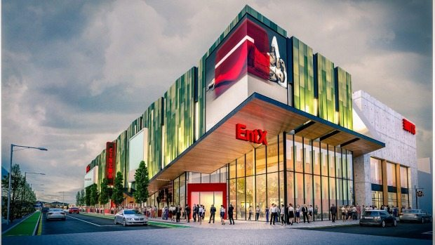 Hoyts cinema in Christchurch. (image: artist's impression)