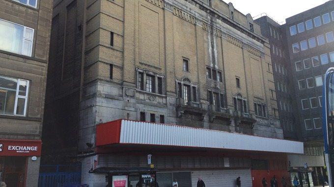Odeon Newcastle, set to be demolished. (photo: ITV Tyne Tee)
