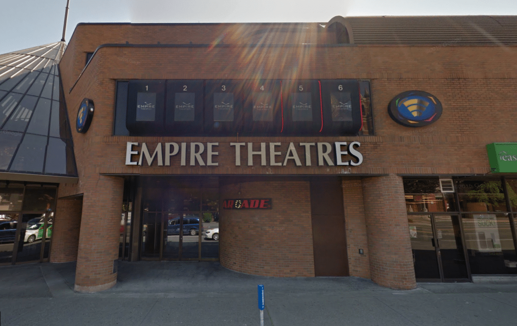 The pre-re-opening Empire Theatres in Victoria, BC. (image: Google Street View)