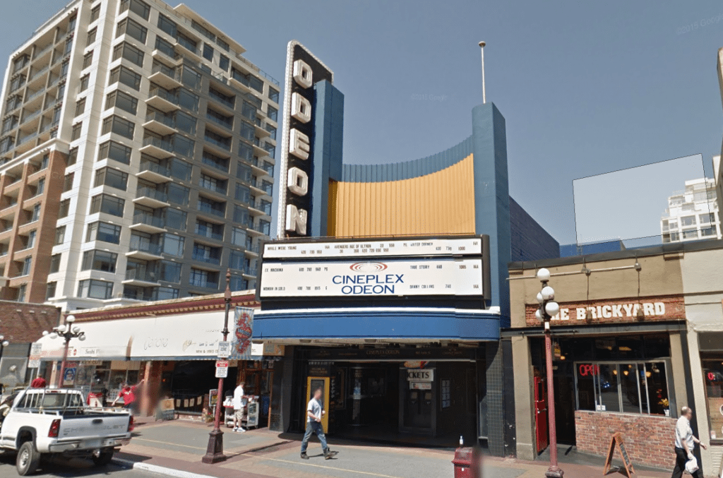 Sit more comfortably - at Victoria's Odeon cinema. (image: Google Street View)
