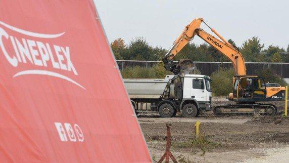 Work starts on Cineplex Meitingen. (photo: Marcus Merk)