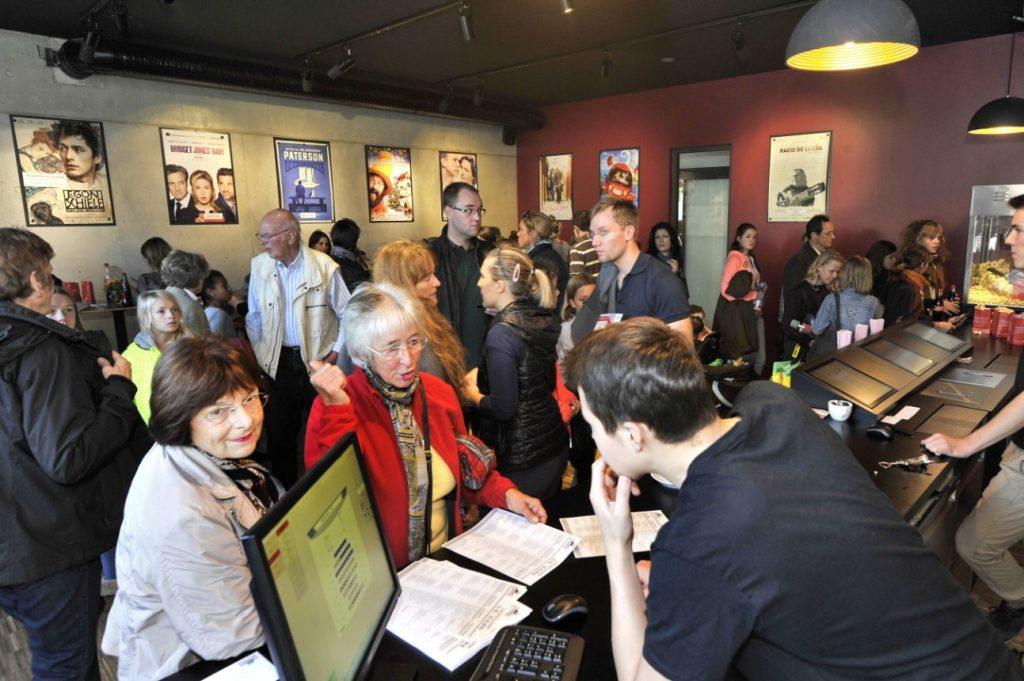 Gautinger Kino holds its opening. (photo: Georgine Treybal)