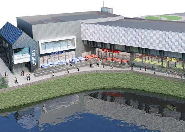 Haverfordwest cinema plans for old Wilko site. (image: artist's impression)