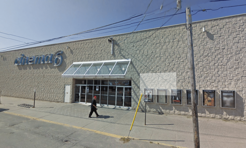 Timmins Cinema 6 (image: Google Street View)