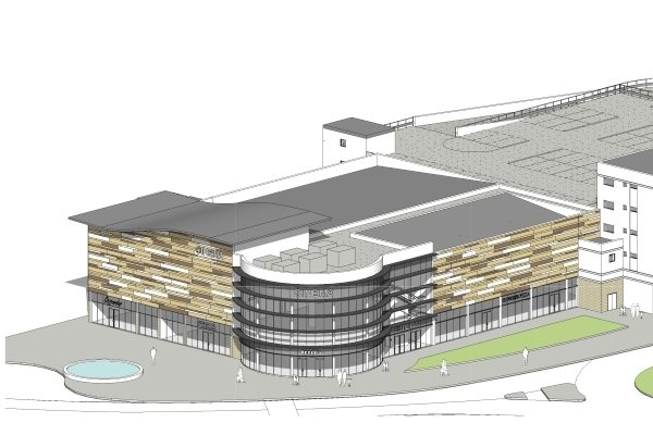 Here be cinema in Scarborough. (image: architect's plans)