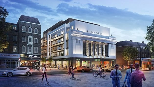 Cinema is coming to Ealing. (image: artist's impression)