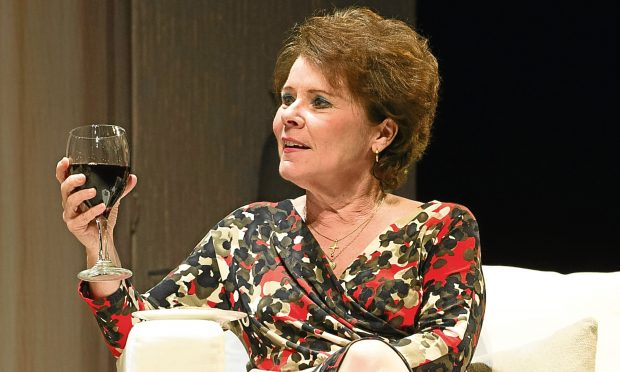 Imelda Staunton - not a fan of F&B. (photo: The Courier)