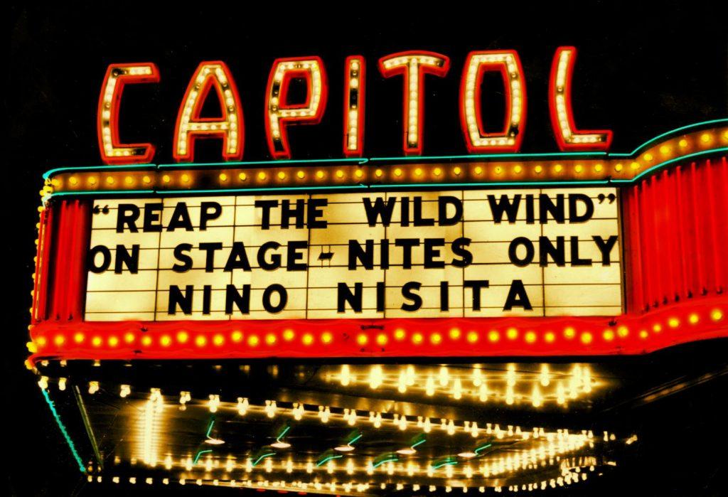 Rome Capitol Theatre (& Cinema) Marquee. (photo: Facebook)