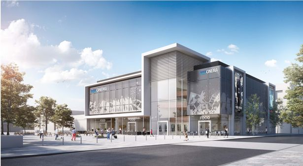 The planned Reel Cinema in Kirby. (image: artist's impression)
