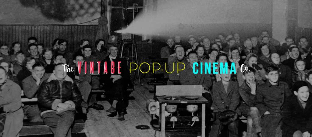 Vintage Pop-up cinema Nottingham