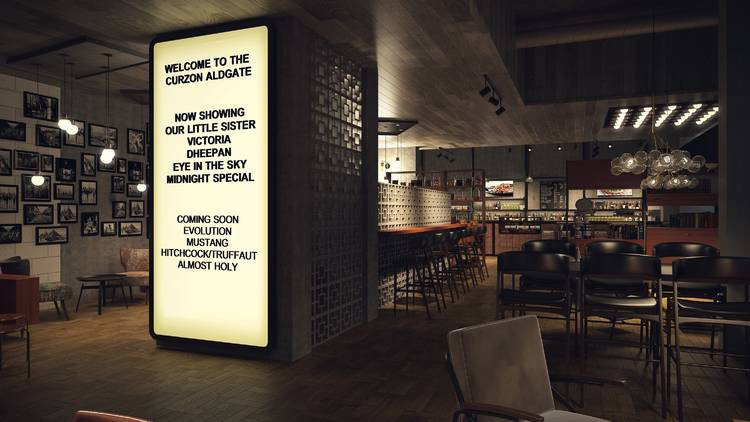 Curzon Aldgate - opening in 2017. (photo: Time Out London)