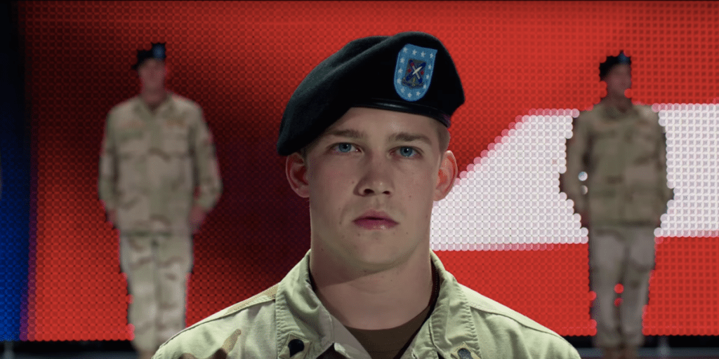 "Too many frames? ""Billy Lynn's Long Halftime Walk"". (image: Sony Pictures Entertainment_"