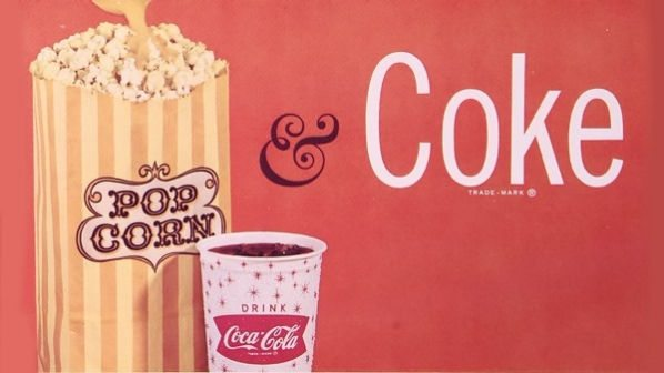 Coke cinema screen