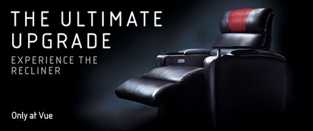 Vue recliners - yours for just £5. (image: Vue)