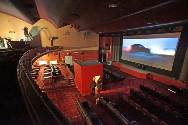 Putting the projection room centre; the Gaumont Plaza Cinema in Flint. (photo: Daily Post Wales)