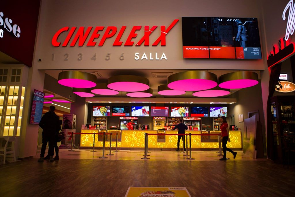 Cineplexx Pristina, Kosovo (photo: Facebook)