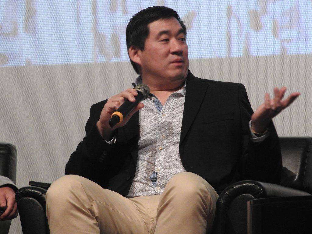 Mark Shaw, Shaw Organisation, speaking at CineAsia 2016 panel. (photo: Patrick von Sychowski / Celluloid Junkie)