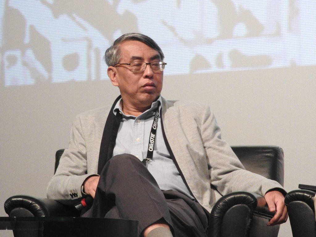 Irving Chea, Golden Screen Cinemas, speaking at CineAsia 2016 panel. (photo: Patrick von Sychowski / Celluloid Junkie)