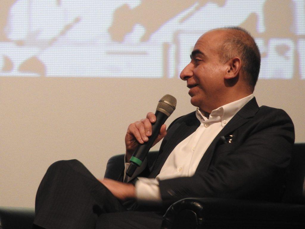 Sunder Kimatrai, Twentieth Century Fox, speaking at CineAsia 2016 panel. (photo: Patrick von Sychowski / Celluloid Junkie)