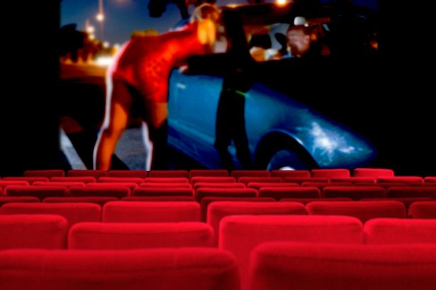 Getting raunchy in the cinema. (photo: The Mirror)