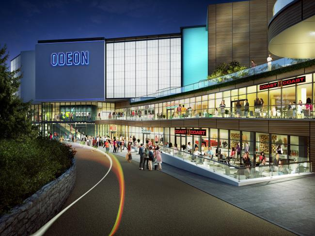 Odeon Bournemouth Westover Rd. (image: artist's impression)
