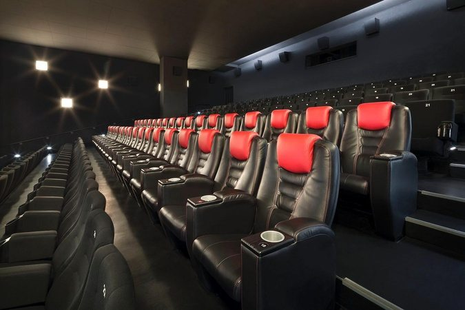 Cinemaxx leather recliner VIP seats. (photo: Blickpunkt: Film)