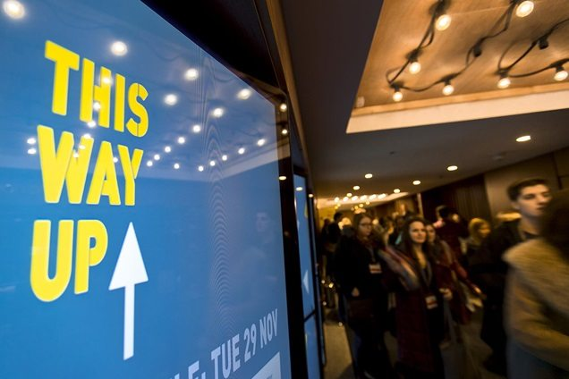 This Way Up 2016. Unhappiness with cinema experience high. (photo: Screen Daily)